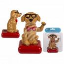 Großhandel Sonnenbrillen: Bewegliche Figur, Hund mit Sonnenbrille