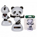 Movable figure, Panda, with plastic base