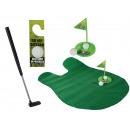 Toiletten-Golf-Set, 6-teilig (Golfschläger