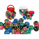 Springball, Colors II, ca. 4,5 cm, 6-fold sortier