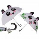 Kinder-Regenschirm, Panda, D: ca. 70 cm
