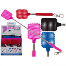 Extractable plastic fly swatter, Colors, m