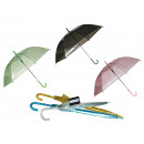 Großhandel Regenschirme: Regenschirm,  Transparent II, D: ca. 88 cm, 6-farbi