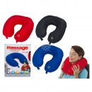 Neck Massager, 100% Polyester, ca. 31 x 30 cm, 3 c