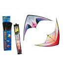 groothandel Speelgoed: Nylon vliegers,  stunt vliegers, ongeveer 160 x 80
