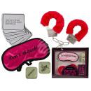 wholesale Toys: Erotic game set, 29 pieces (eye mask, plush Ha