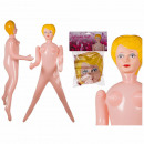 Inflatable Rubber Doll, Sexy Girl, ca. 155 cm