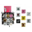 Latex-Kondom,  Funny Collection I, 36-fach sortiert