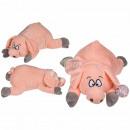 Lying plush pig, approx. 32 cm, 288 / PAL