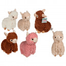 Plush Llama, about 22 cm, 4-color assorted