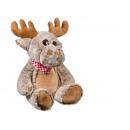 Plush Moose, ca. 42 cm