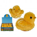 Plush chick with sound (including batteries) appro