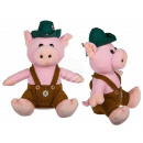 Yodeling plush pig with movement (including batte