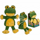 Plush frog with recording & playback function