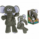 Plush elephant with recording & playback funct