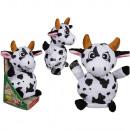 Vache en peluche avec enregistrement et de la fonc