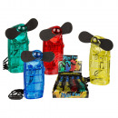 wholesale Air Conditioning Units & Ventilators: Mini fan, ca. 9 x  4 cm, 4 colours ass., for 2 mign