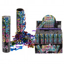 Confetti shooter, 20 cm, 24 pcs in Display