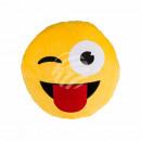 Pluche -Kussens, Tongue emotie, ongeveer 50 cm