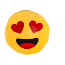 Pluche -Kussens, Hart emotie, ongeveer 50 cm