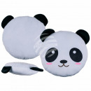 Plush Pillows , Panda, about 30 cm