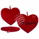Red plush heart, Te Quiero, approx. 35 cm