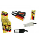 wholesale Travel Accessories: Luggage tag, Germany flag, 2- times assorted