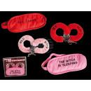 Plüsch-Handschellen- & Augenmaske, Sexy