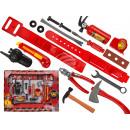 wholesale Models & Vehicles: Plastic  Feuerwehrset, 17 part (ax 18.5 c