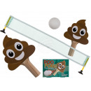 Poo Pong, with 2 table tennis rackets, 1 ball