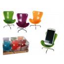 wholesale Computer & Telecommunications: Plastic mobile  holder, Chair, ca. 14.5 x 11 cm, 6