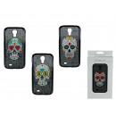 groothandel Telefoonhoesjes & accessoires: 3D plastic  omhulsel, Coloured Skull, voor Galaxy S