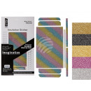 ingrosso Informatica: Glitter Foil Sticker per Iphone 6 e 6 Plus, 6-FAR