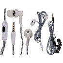 wholesale Music Instruments: IN EAR headphones with microphone & approx. 1.