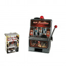 Plastic Savings bank, Slot Machine with Sound and