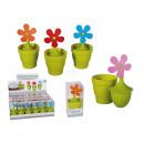 grossiste Pots de fleurs & Vases: Passoire à thé en  silicone, fleur dans un pot, env