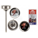 Stainless steel meat thermometer, approx. 7 cm, se