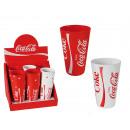 Coppa di plastica, Coca Cola, a circa 13 x 8 cm,