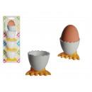 Plastic egg cup,  Duck feet, ca. 4.5 cm, set of 3,