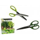 grossiste Aides de cuisine: Ciseaux en acier  affiné pour  herbes, env. 19 ...