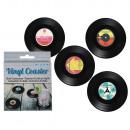 grossiste Linge de table: Dessous de vinyle,  disque, D: 11 cm, 4-f
