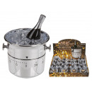 wholesale Crockery: Plastic kitchen timer, champagne cooler, about 9 x