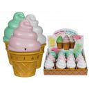 Plastic kookwekker, ijsjes, ca. 10 x