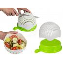 mayorista Bandejas: Plástico de corte ensaladera, aproximadamente 22,5