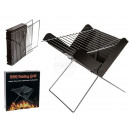 wholesale Barbecue & Accessories: Folding grill, approx. 31 x 27 cm