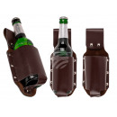 Black belt bottle holder, approx. 23 cm