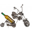 Metal bottle holder, Motorcycle IV, about 32 x 22