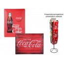 Großhandel Bilder & Rahmen: Metall-Schild,  Retro Coca Cola, ca. 40 x 30 cm, 2-