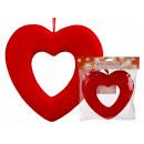 mayorista Artículos de regalo: corazón de plástico rojo, unos 22,5 cm, para ...