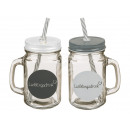wholesale Drinking Glasses: Drinking glass, favorite drink, mason jar with han